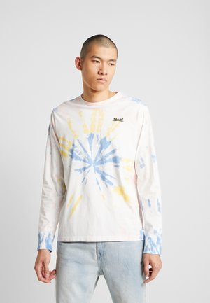 RELAXED GRAPHIC TEE - T-shirt à manches longues - white tie dye