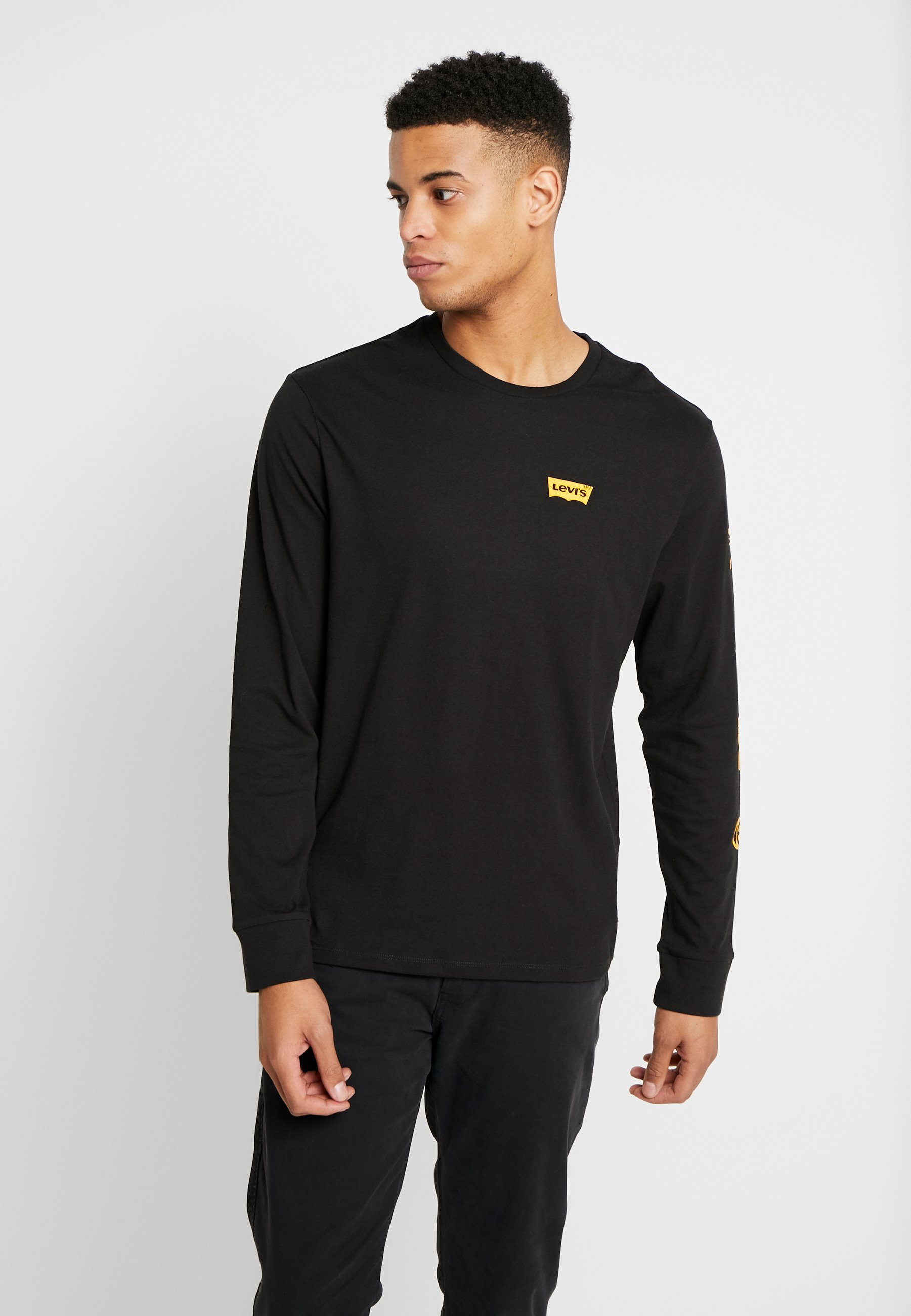 Levi's® Graphic Tee - T-shirt À Manches Longues World Mineral Black