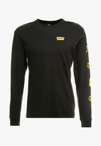 Levi's® - GRAPHIC TEE  - Longsleeve - world mineral black - 3