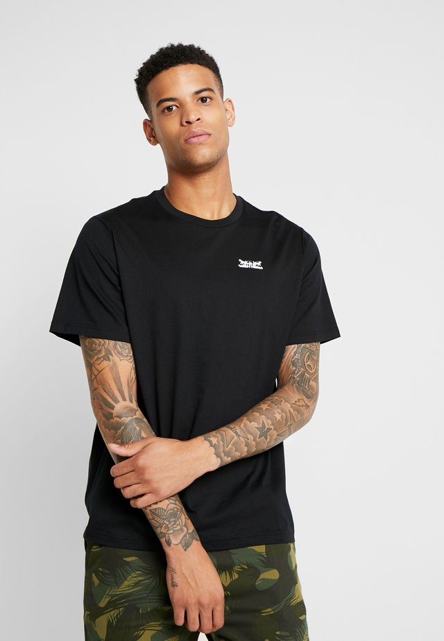 RELAXED GRAPHIC TEE - T-shirt con stampa - text mineral black