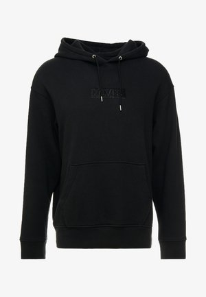 RELAXED GRAPHIC HOODIE - Hoodie - mineral black