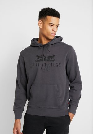 GRAPHIC HOODIE - Bluza z kapturem - dark grey