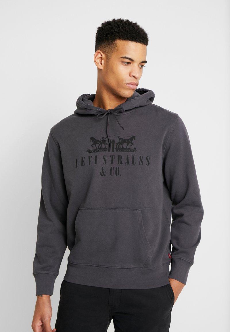 Levi's® - GRAPHIC HOODIE - Jersey con capucha - dark grey