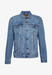 Levi's® - THE TRUCKER JACKET - Giacca di jeans - embossed 2 horse trucker - 4