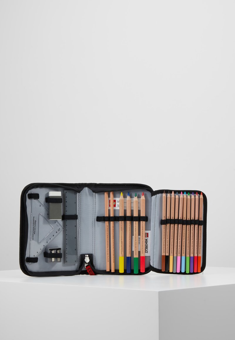 Lego Bags - PENCIL CASE WITH CONTENT - Penál - red