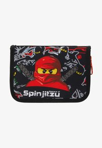 Lego Bags - PENCIL CASE WITH CONTENT - Federmäppchen - red - 2