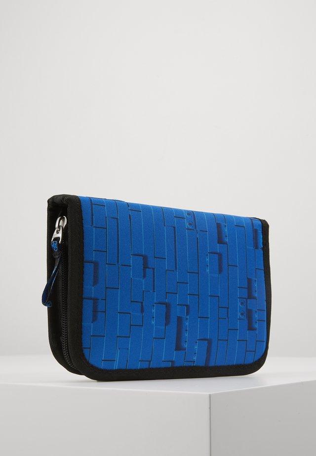 CITY POLICE COP PENCIL CASE WITH CONTENT - Pencil case - blau