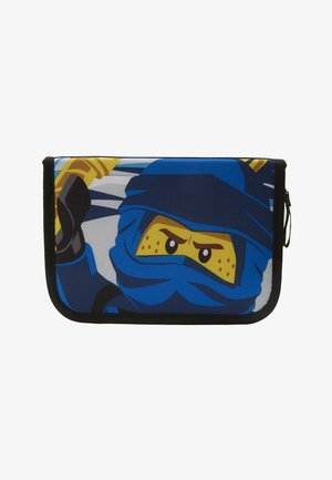 CITY POLICE COP PENCIL CASE WITH CONTENT - Penál - blau