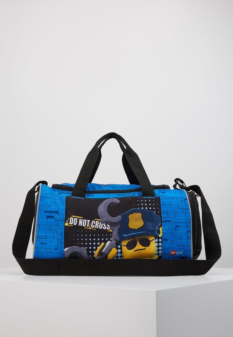 Lego Bags - CITY POLICE COP TRAVEL BAG  - Torba sportowa - blau