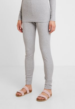 Leggings - light grey melange