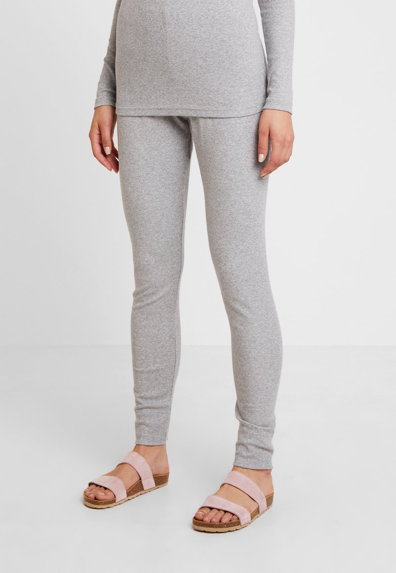 Lounge Nine - Leggingsit - light grey melange