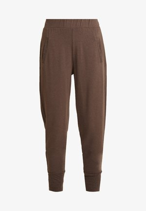 HUXIE PANTS - Trainingsbroek - major brown