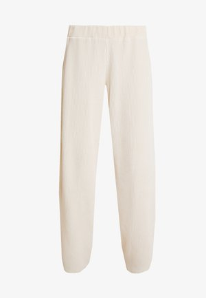 LILLIAN PANTS - Kalhoty - warm off white