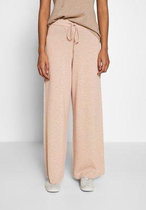 NOELLN PANTS - Trousers - desert melange