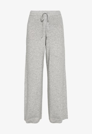 NOELLN PANTS - Pantalon classique - light grey melange