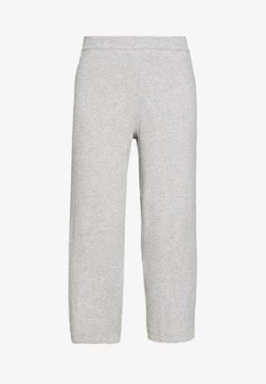LOTTIELN CULOTTE - Tygbyxor - light grey melange