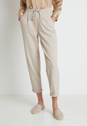 TANSARA PANTS - Spodnie materiałowe - melange