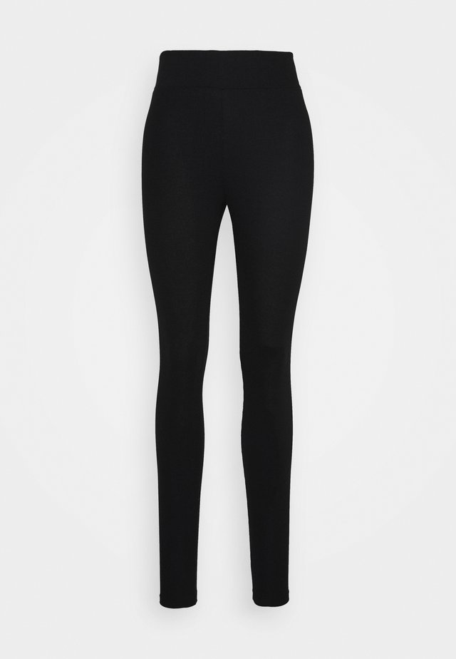 ALLISON - Leggings - Trousers - pitch black