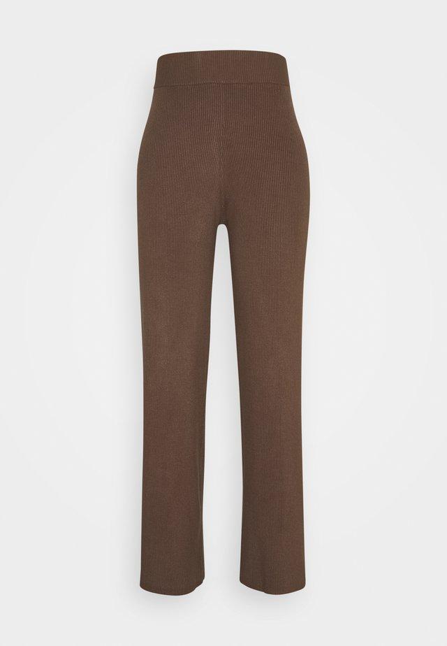 CELESTINA PANTS - Pantalon classique - chocolate chip