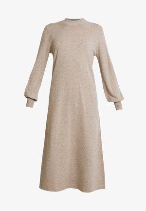EMYDRESS - Strikket kjole - portabella