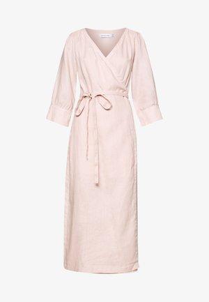 OLINA VRAP DRESS - Maxi-jurk - spring pink