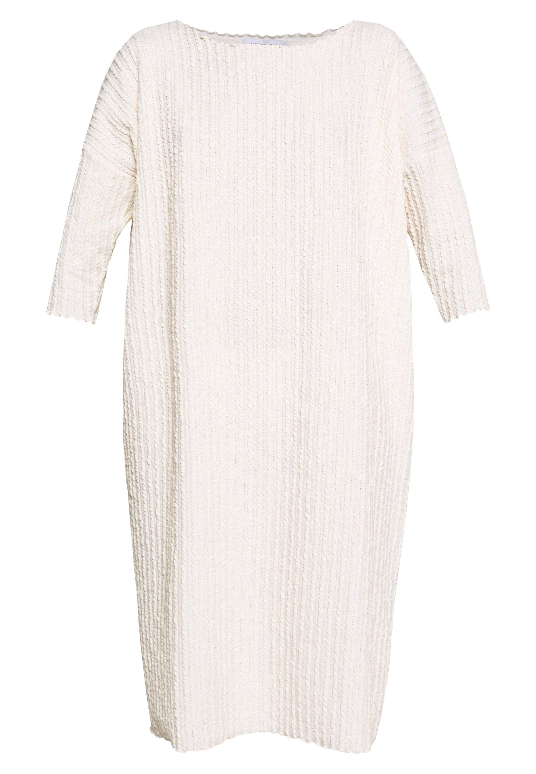 Lounge Nine Kylie Dress - Jumper White Swan