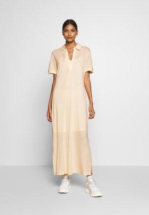 CHERISH POLO DRESS - Jersey dress - beige