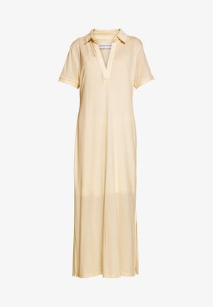 CHERISH POLO DRESS - Jerseyklänning - beige