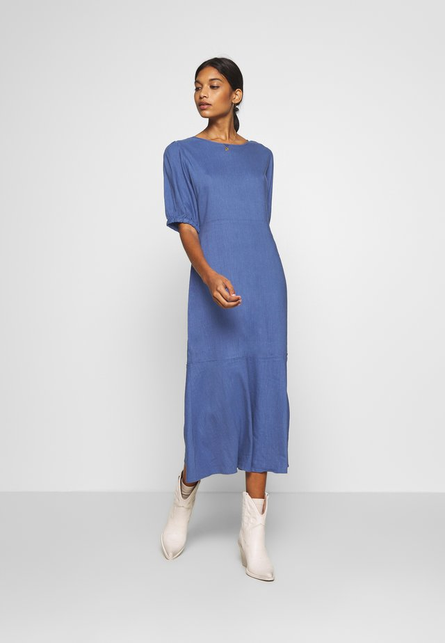 LAUREN DRESS - Day dress - bijou blue