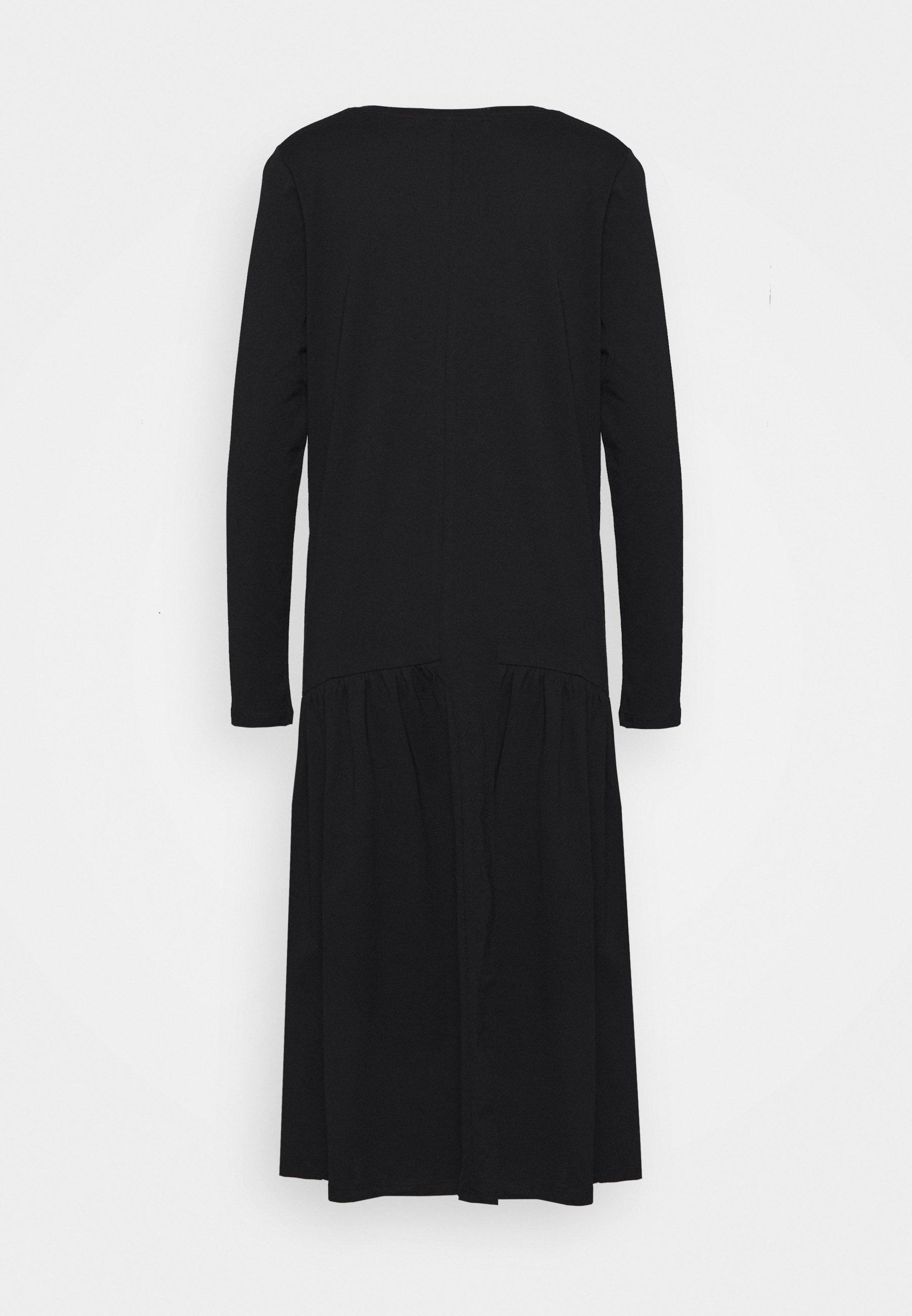 Lounge Nine Hermione Dress - Robe En Jersey Pitch Black exlL17Q