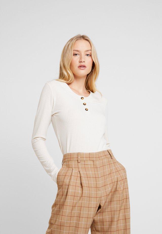 DALINLN - Langarmshirt - warm off white
