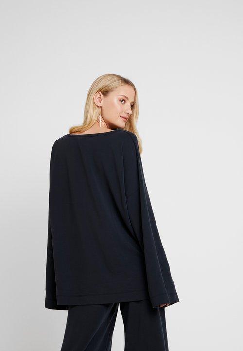 Lounge Nine REMIIE OVERSIZE - Bluza - dark grey Odzież Damska VZUY-HP6 30% OBNIŻONE