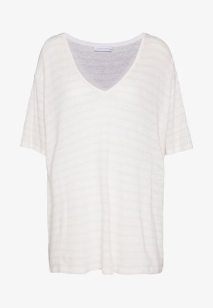 Basic T-shirt - chalk