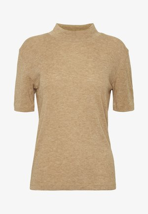 DREAMIELN ROLLNECK - T-shirt med print - camel melange