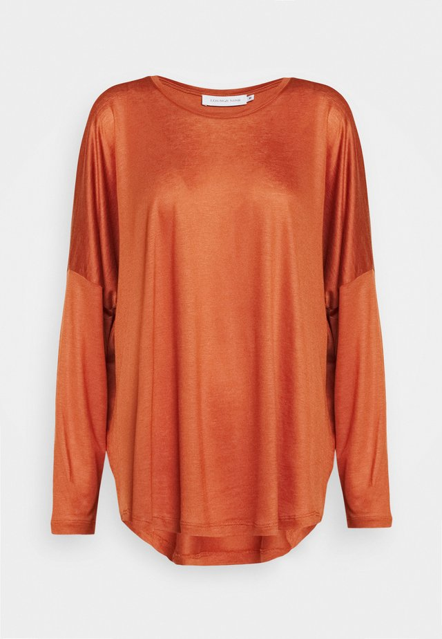 MOLLY - Long sleeved top - auburn