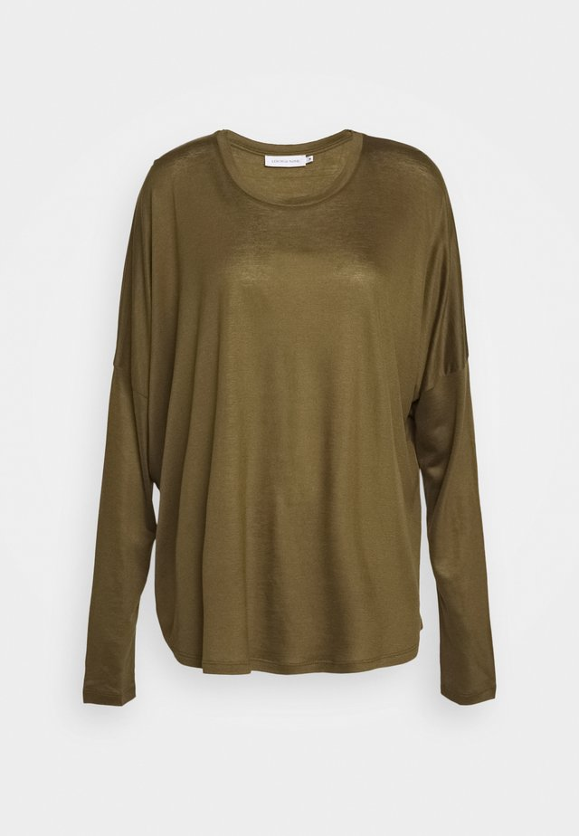 MOLLY - Long sleeved top - beech