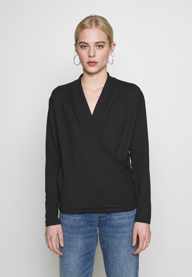 VIOLA - Long sleeved top - dark grey