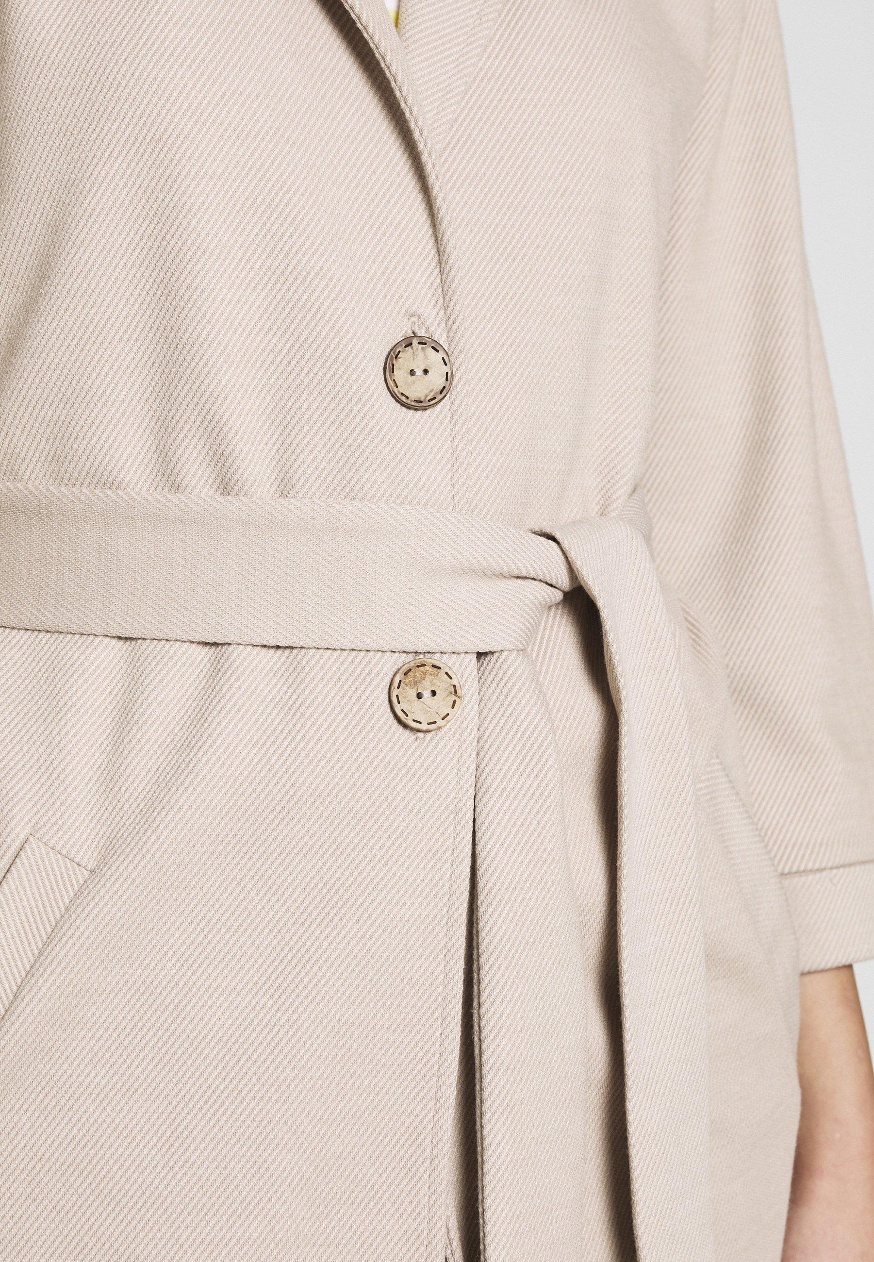 Lounge Nine Płaszcz wełniany /Płaszcz klasyczny - melange