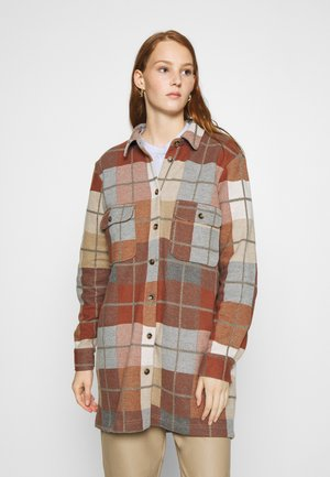 JOLENE WORKWEAR - Classic coat - burned melange