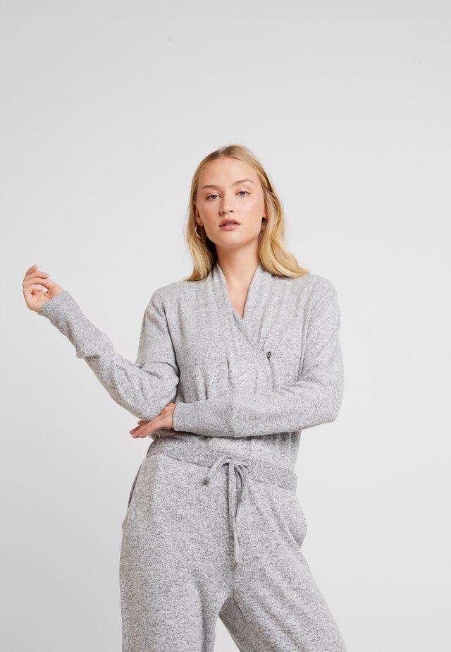 LUCCALN - Strickpullover - light grey melange
