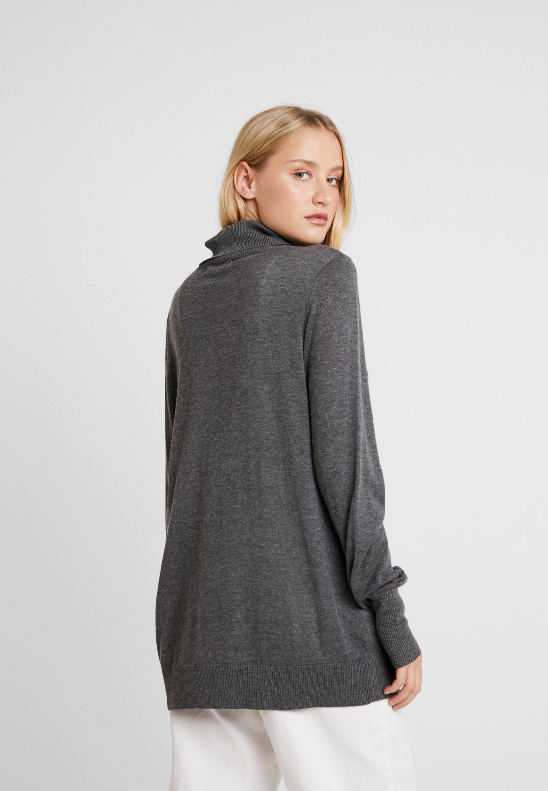 Lounge Nine MIRZALN - Pullover dark grey melange