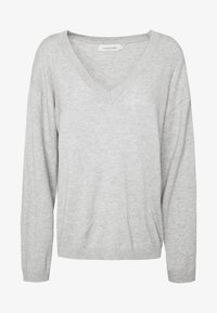 Lounge Nine - LOTTIE - Trui - light grey melange - 3