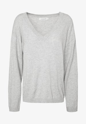 LOTTIE - Svetr - light grey melange