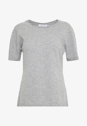 NOELLN  - Print T-shirt - light grey melange