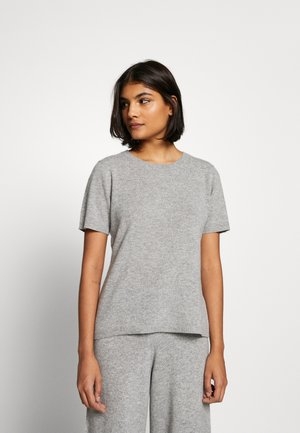 NOELLN  - T-shirt z nadrukiem - light grey melange