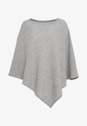 NOELLN PONCHO - Ponczo - light grey melange
