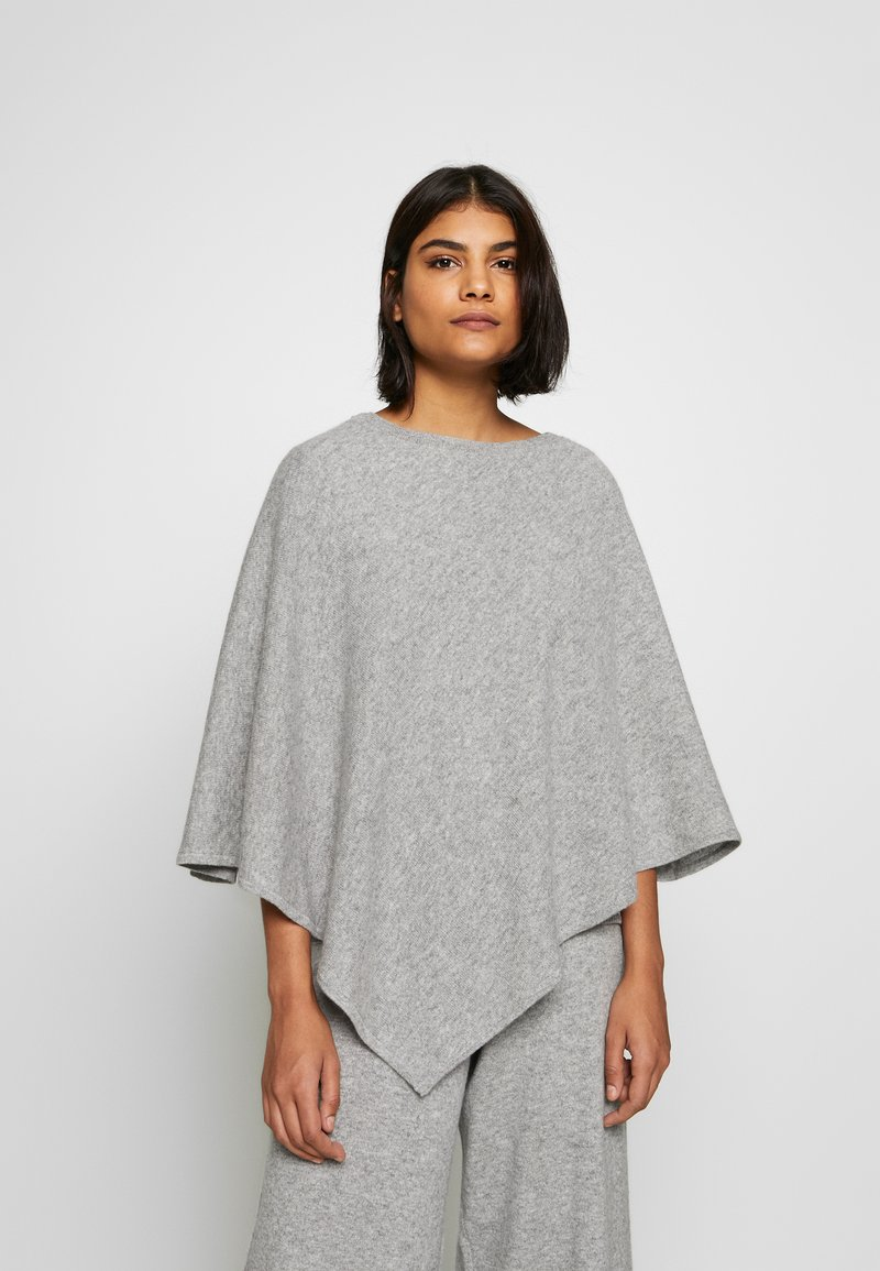 Lounge Nine - NOELLN PONCHO - Poncho - light grey melange