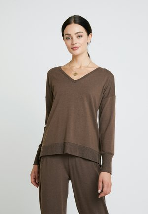 HUXIELN - Sweatshirt - major brown