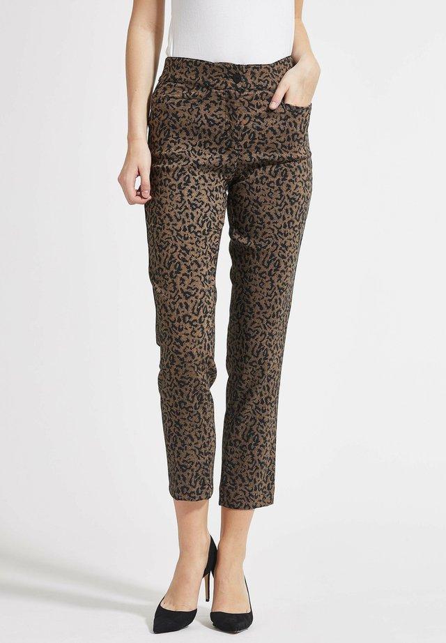 LISA  - Pantalon classique - coconut brown