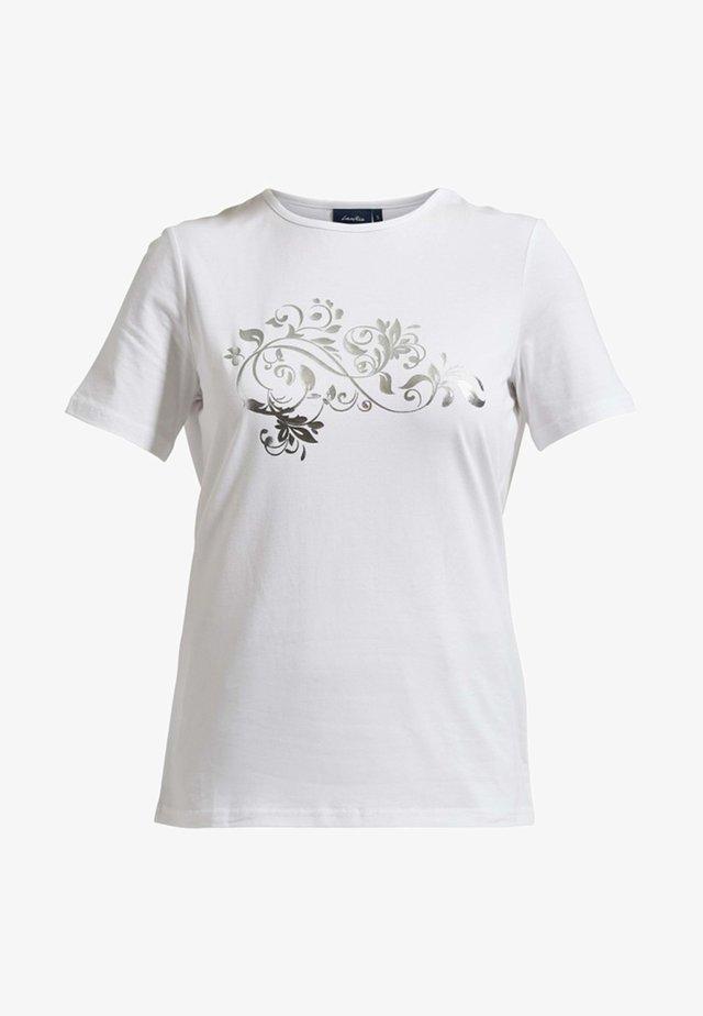 MIT LOCKERER  - T-shirt imprimé - white